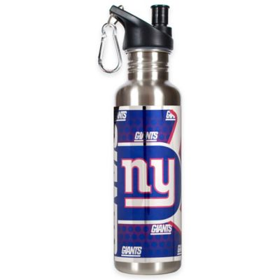New York Giants 26-Ounce Stainless Steel Water Bottle