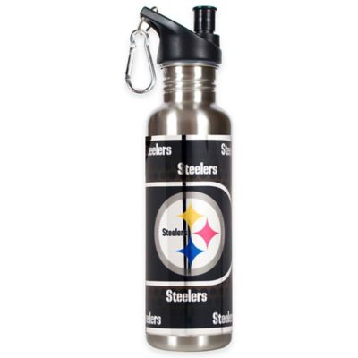 Pittsburgh Steelers 26-Ounce Stainless Steel Water Bottle