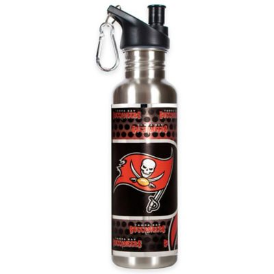 Tampa Bay Buccaneers 26-Ounce Stainless Steel Water Bottle