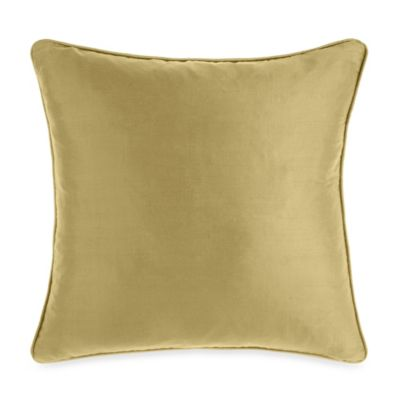 Silk Apple Green Toss Pillow