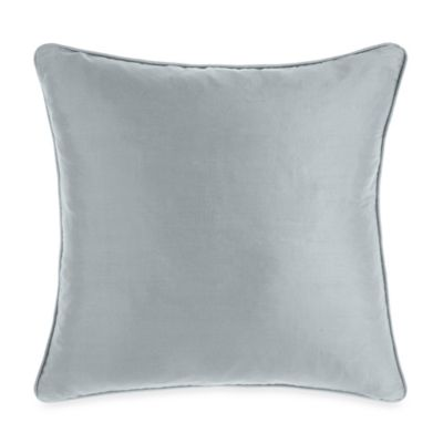 Silk Blue Cloud Toss Pillow