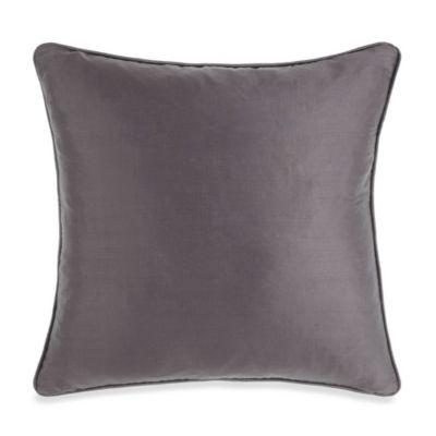 Silk Charcoal Toss Pillow