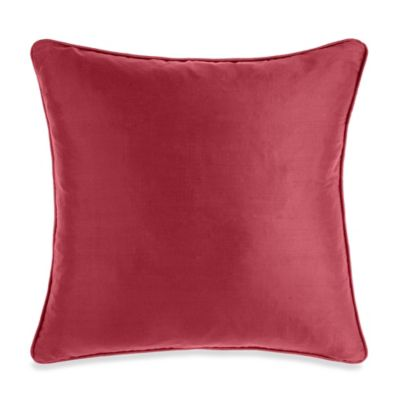 Silk Lucky Red Toss Pillow