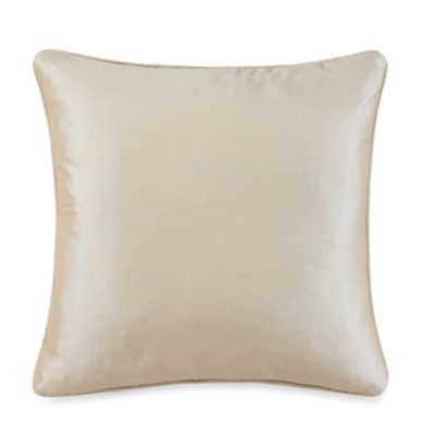 Silk Pearl Square Toss Pillow