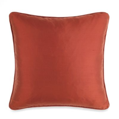 Silk Russet Toss Pillow