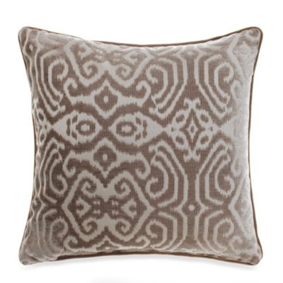 Polonia Beige Throw Pillow