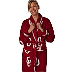 University of Oklahoma Ladies Fleece Robe