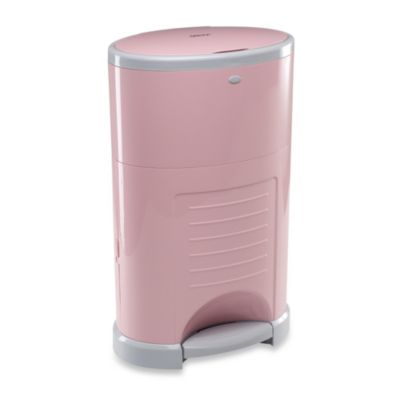 Dekor Kolor Plus Diaper Disposal Pail in Soft Pink