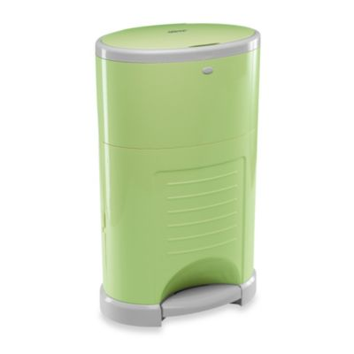 Dekor Kolor Plus Diaper Disposal Pail in Sage