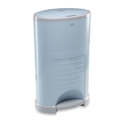 Dekor Kolor Plus Diaper Disposal Pail in Soft Blue