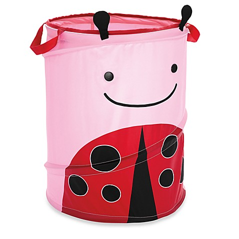 SKIP*HOP® Zoo Pop-Up Hamper - Ladybug