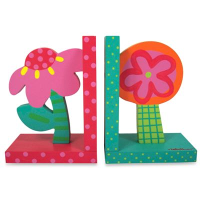 Tatutina™ Bright Flower Bookends