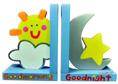 Tatutina™ Sun & Moon Bookends