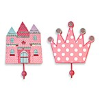2-Pack Princess Wall Hooks