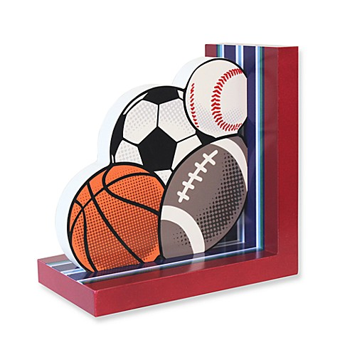 Sports Ball Bookend in Left