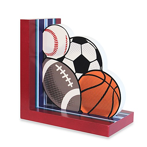 Sports Ball Right Side Bookend