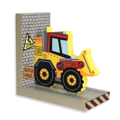 Construction Right Side Bookend