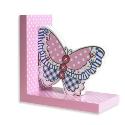 BelieVein Your Dreams Butterfly Right Bookend