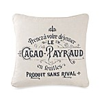 Pasaro Cacao Square Toss Pillow
