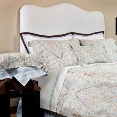 Bellino Fine Linens® Paisley Queen Duvet Cover and Sham Set in Sky