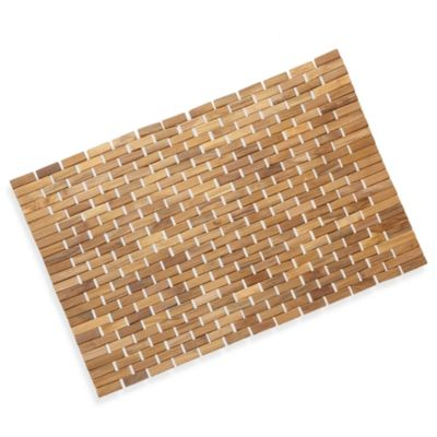 Buy Teak Tub Mat From Bed Bath Amp Beyond