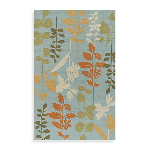 Rain Indoor/Outdoor Rug in Pale Blue