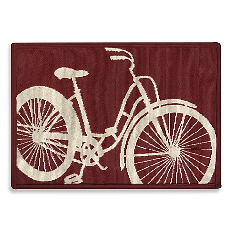 Park B. Smith® Vintage House Urban Bicycle 27-Inch x 36-Inch Tapestry Rug