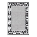 Montego Bay Tuscany Grey 8-Foot x 11-Foot Indoor/Outdoor Rug