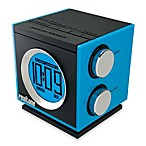 Realtone AM/FM Dual Alarm Clock Radio in Blue