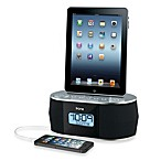 iHome® Dual Charging Stereo FM Radio Alarm Clock w/USB Charge and Play