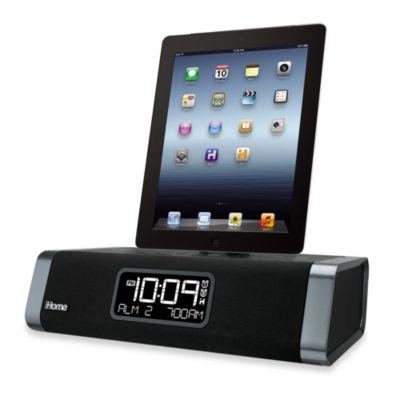 iHome® iDL45 Dual Charging FM Clock Radio