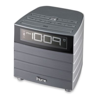 iHome® Bluetooth Wireless FM Clock Radio
