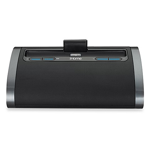 iHome® Rechargeable Speaker with Lightning Dock and USB Charge/Play