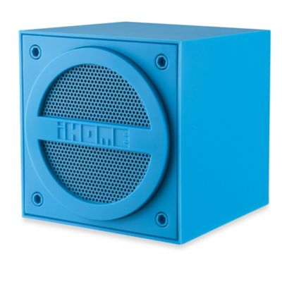 iHome Bluetooth Wireless Mini Speaker in Blue