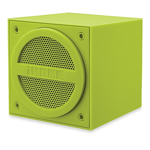 iHome® Bluetooth® Wireless Mini Speaker in Green