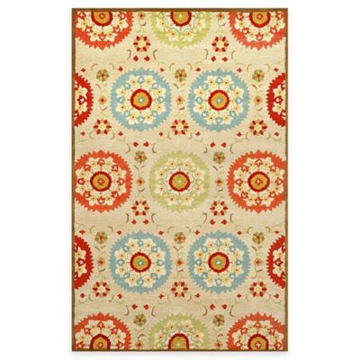 Suzanie 2-Foot 3-Inch x 8-Foot Indoor Rug in Neutral