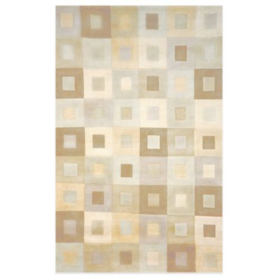 Boxes 9-Foot x 12-Foot Indoor Rug in Neutral