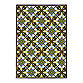 Oriental Weavers Caspian 7-Foot 10-Inch x 10-Foot Indoor and Outdoor Rug in Green/Brown