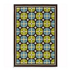 Sphinx Caspian Indoor and Outdoor Rug in Blue/Green