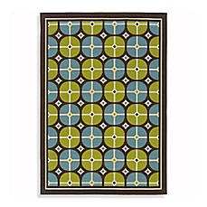 Oriental Weavers Caspian Indoor and Outdoor Rug in Blue/Green