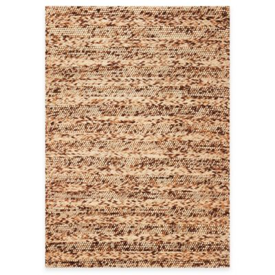 KAS Cortico 3-Foot 3-Inch x 5-Foot 3-Inch Indoor Rug - Coffee