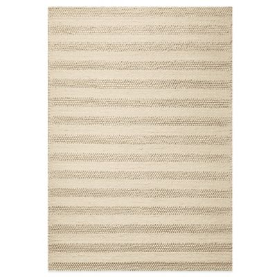 KAS Cortico 5-Foot x 7-Foot Indoor Rug in White