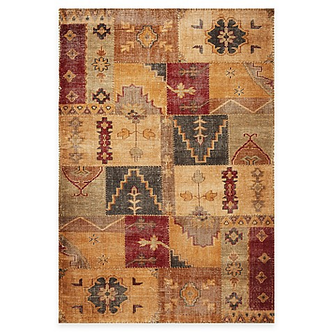 KAS Cypress Handknotted Coffee Agra Rugs