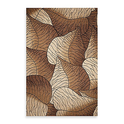 KAS® Horizon Beige Fauna 6-Foot 9-Inch Round Indoor/Outdoor Rug