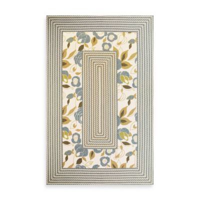 KAS Fairfax Floral Indoor/Outdoor Rug