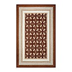 KAS Fairfax Mocha Tiles Indoor/Outdoor Rugs