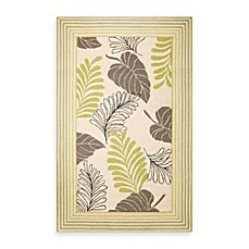 KAS Fairfax Ivory Whimsy Indoor/Outdoor Rugs