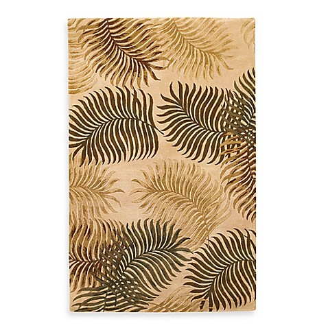 Kas Havana Natural Fern View 7-Foot 1/2-Inch Indoor Rug