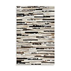 Messina Trail Indoor Rug in Black/Tan