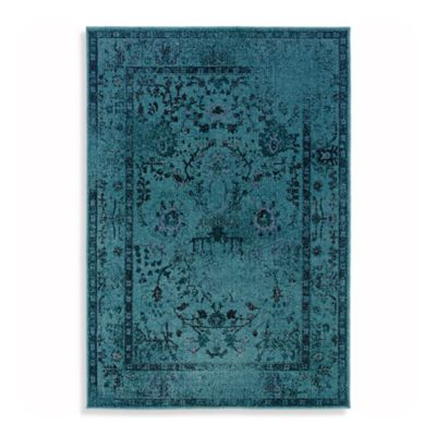 Sphinx Revival Rugs in Turquoise